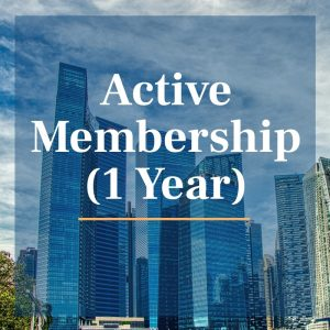 Active membership 1 year